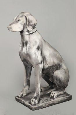 Tuinbeeld Engelse Pointer dog Beton Tuinbeelden
