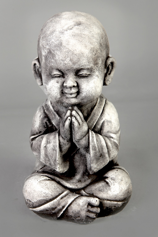 Boeddha Beeld Beton.Tuinbeeld Monnik Beeld Beton
