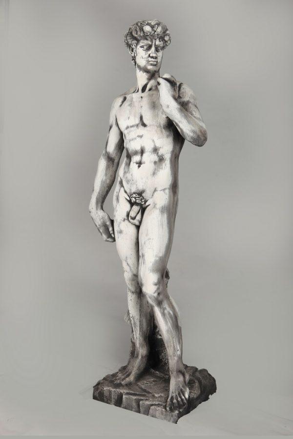 Michelangelo David Groot Tuinbeeld 120 cm Beton Winterhard