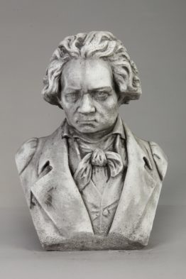 Tuinbeeld Beethoven Beton Tuinbeelden