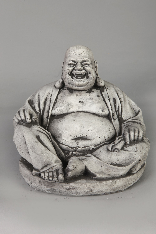 Boeddha Beeld Beton.Tuinbeeld Boeddha Beeld Beton