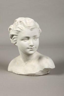 Tuinbeeld Buste Jongen