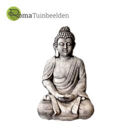 Boeddha en monnik