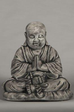 Tuinbeeld Vrolijke Boeddha Beton
