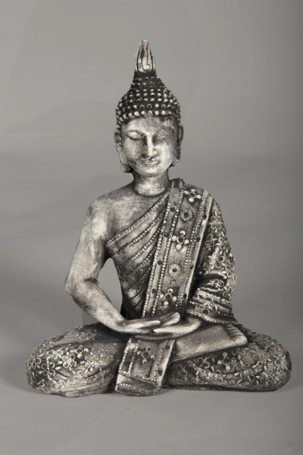 Boeddha Beeld Beton.Tuinbeeld Boeddha Beeld Beton Roma Tuinbeelden