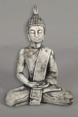 Tuinbeeld Boeddha Punt Middel Beton