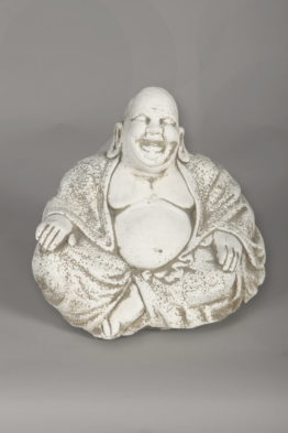 Tuinbeeld Boeddha Vrolijk Beton