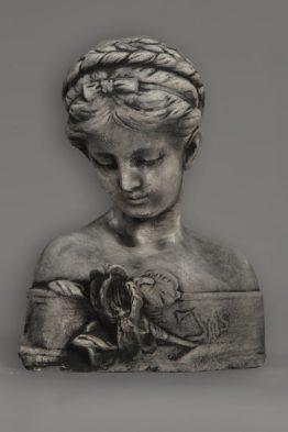 Tuinbeeld Buste Beeld Bloem Beton