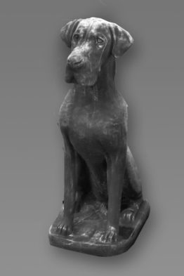 Tuinbeeld Deense /Duitse Dog Beton