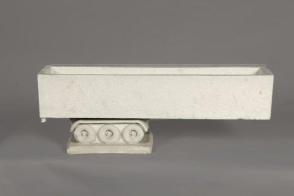 Tuinbeeld Trailer Los beton