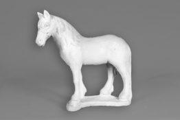 Tuinbeeld Staand Paard Beton