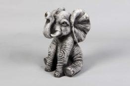 Tuinbeelden van een olifant