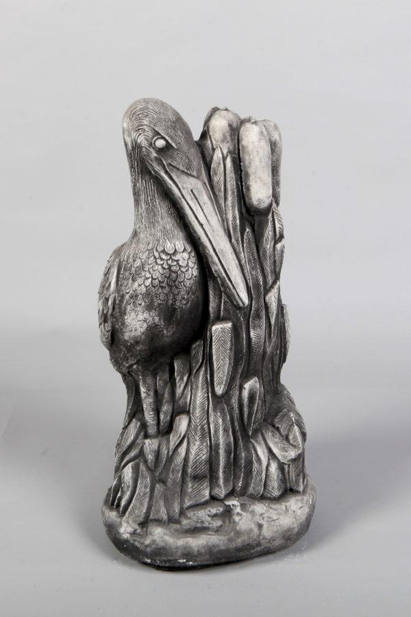 Tuinbeeld Vogel Beton Waterkant