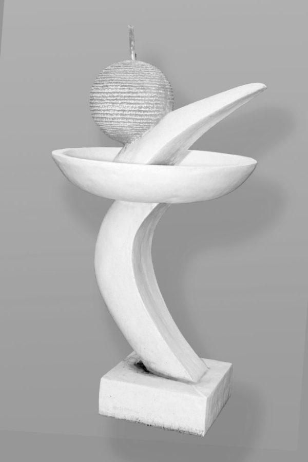 Fontein Modern Bol Punt